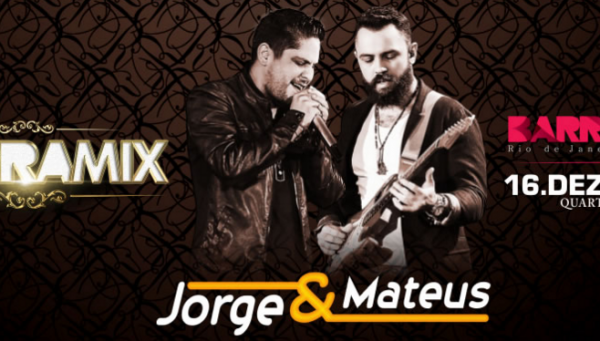 Jorge e Mateus no Barra Music